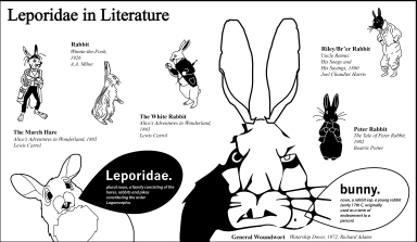 Leporidae in Literature